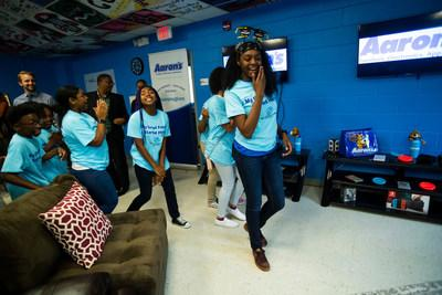Aaron's, Inc., a leading omnichannel provider of lease-purchase solutions, and its divisions Aaron's and Progressive Leasing, finished the 37th Keystone Club Makeover for Atlanta teens in May. The freshly remodeled Keystone Teen Center at the Samuel L. Jones Boys & Girls Club, Boys & Girls Clubs of Metro Atlanta was completed with input from the teen members. Aaron's associates and Club officials decorated and furnished the Club's multipurpose space.