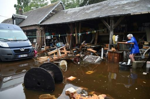 Flooding has caused widespread damage in France in recent days