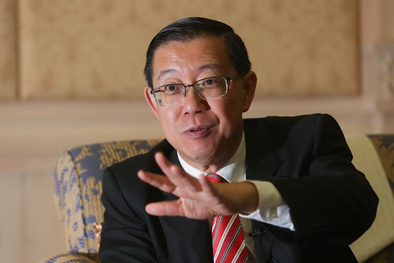Finance Minister Lim Guan Eng speaks to Malay Mail in Putrajaya June 1, 2018. — Picture by Choo Choy May