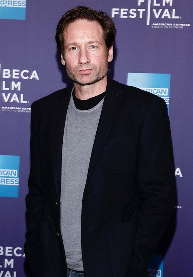 """August 7: David Duchovny (""""Californication"""") turns 51. Brian Ach/<a href=""""http://www.wireimage.com"""" target=""""new"""">WireImage.com</a> - April 23, 2011"""