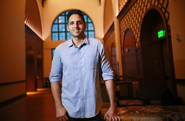 Qudrat would the first Muslim Republican to take a seat in Congress if he wins (AFP Photo/Sandy Huffaker)