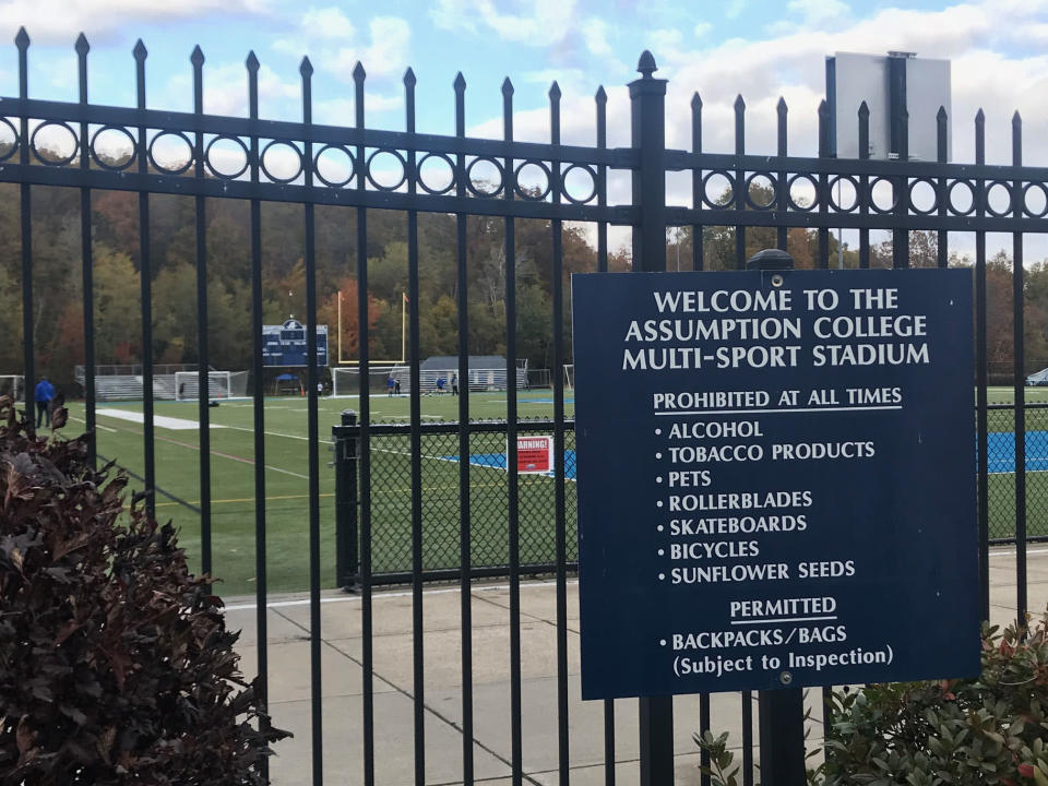 The Assumption College Multi-Sport Stadium is home to many of the university's athletic teams.
