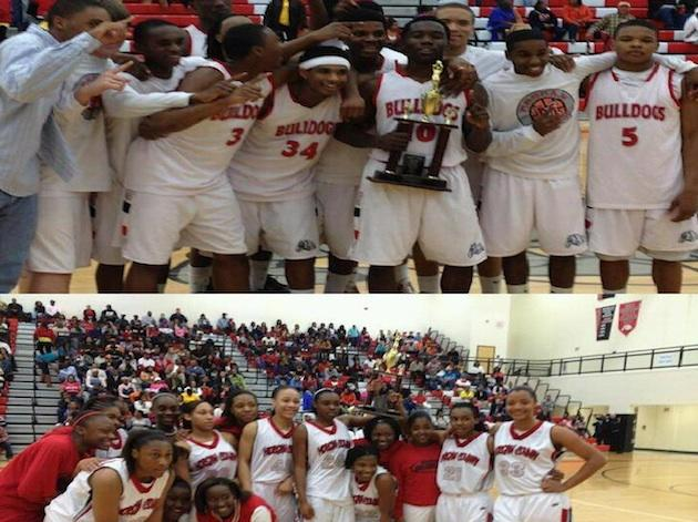 Morgan County's boys and girls basketball regional champion teams — Facebook