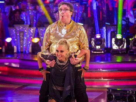 Strictly Come Dancing 2013: Mark Benton stars on a night of strange judges' scores