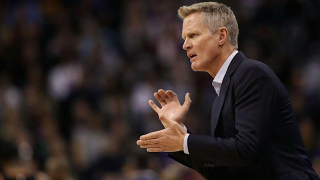 """""""I think what's happened the last few games with our bench … has been galvanizing,"""" Kerr said, via ESPN."""