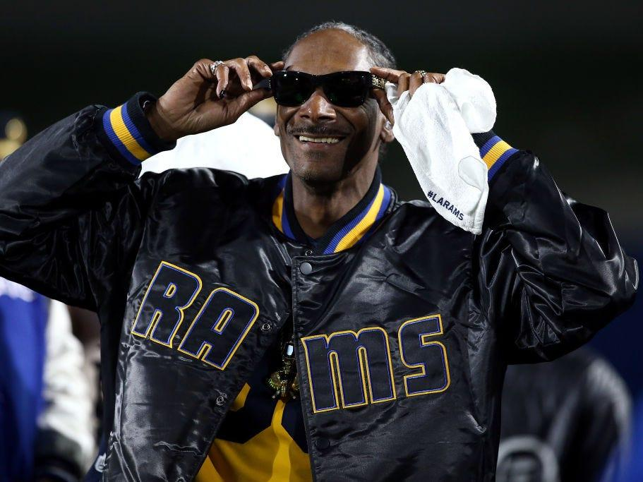 Snoop Dogg has worked in the liquor industry a few times.