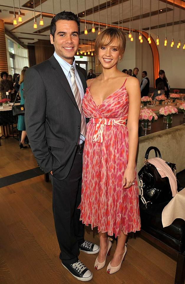 "Rumor had it that Jessica Alba and Cash Warren split briefly during the summer of 2007 because the ""Fantastic Four"" star was looking for marriage. Several months later, Jess got her wish. The couple announced that they were expecting a child and engaged. Will they live happily ever after? Lester Cohen<a href=""http://www.wireimage.com"" target=""new"">WireImage.com</a> - January 10, 2008"