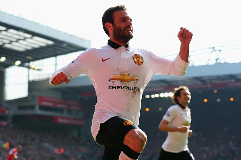 United fans can relive Mata's finest moment on Sunday. (Getty Images)