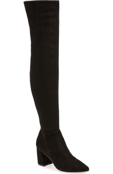 <p><span>Steve Madden Nifty Pointed Toe Over the Knee Boot</span> ($59, originally $130)</p>