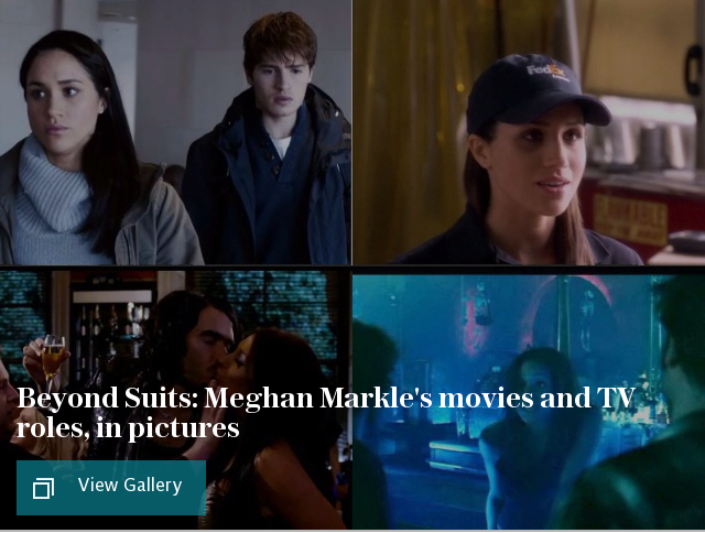 Meghan Markle's movies and TV roles, in pictures