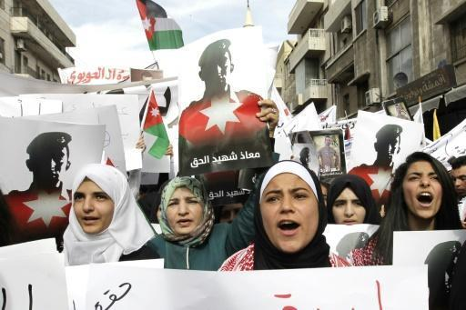 Jordan hangs 15 convicts at dawn, most in years