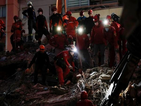 On Friday, a powerful earthquake hit western Turkey and the Greek islands in that part of the Aegean Sea. (Photo credit: Reuters)