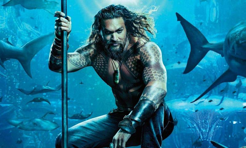 Jason Mamoa as Arthur Curry in Aquaman (Warner Brothers)