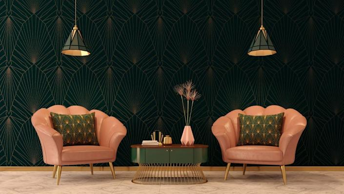 Art deco design booms post-pandemic--here's how to do it in your home