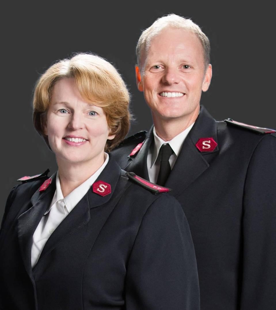 Majors Todd and Wilma Mason, co-area commanders of The Salvation Army of Greater Charlotte.