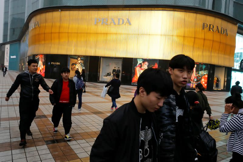 Prada says China sales to date well above 2019 levels