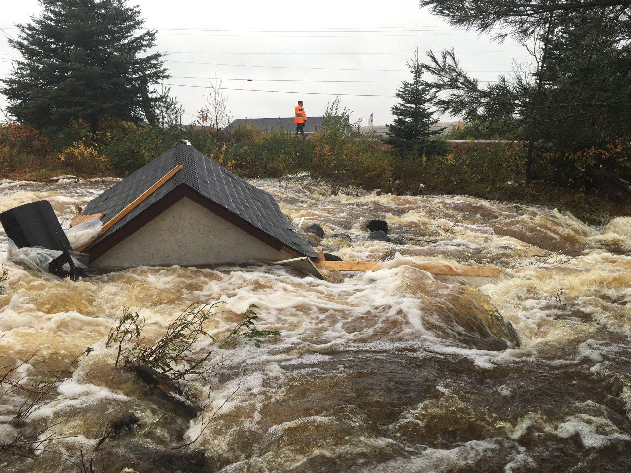 photos storm wreaks havoc in nova scotia. Black Bedroom Furniture Sets. Home Design Ideas