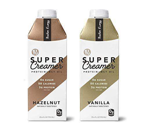 "<p><strong>Sunniva Super Creamer</strong></p><p>amazon.com</p><p><strong>$19.99</strong></p><p><a href=""https://www.amazon.com/dp/B07J1XWTX9?tag=syn-yahoo-20&ascsubtag=%5Bartid%7C2139.g.26145670%5Bsrc%7Cyahoo-us"" rel=""nofollow noopener"" target=""_blank"" data-ylk=""slk:Shop Now"" class=""link rapid-noclick-resp"">Shop Now</a></p><p>This creamer is perfect for people who miss adding tons of sugar and flavored syrups to their coffee. Sweetened with monkfruit, these creamers satisfy your sweet tooth without kicking you out of ketosis. </p>"