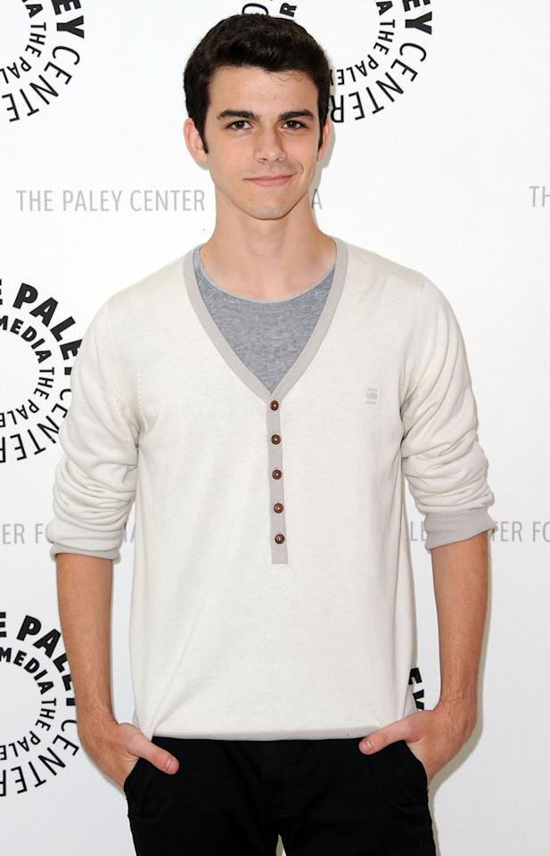 "Joey Pollari arrives at the Season 2 premiere screening of ""Awkward"" at The Paley Center for Media on June 21, 2012 in Beverly Hills, California."