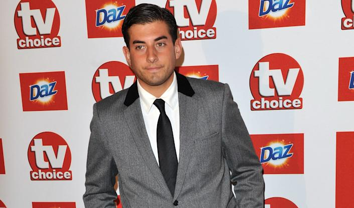 James Argent attends the The TVChoice Awards 2011 at The Savoy Hotel on September 13, 2011