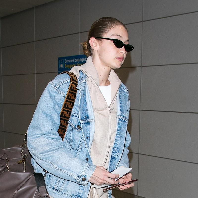 Gigi Hadid Proves Casual Airport Style Can Be Polished, Too