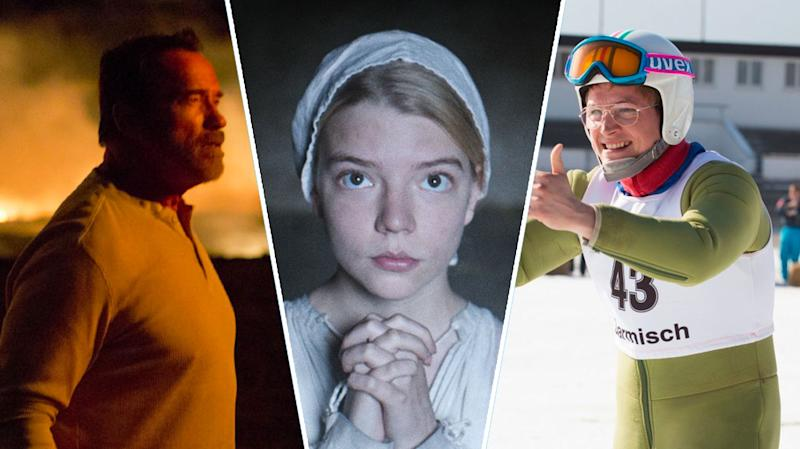 <i>Maggie, The Witch, Eddie The Eagle</i>.