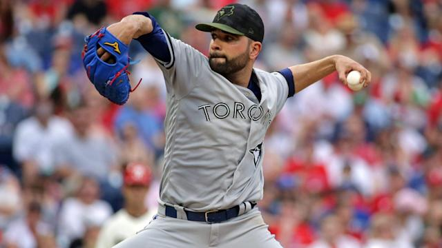 The Blue Jays are considering moving struggling starter Jaime Garcia to the bullpen.