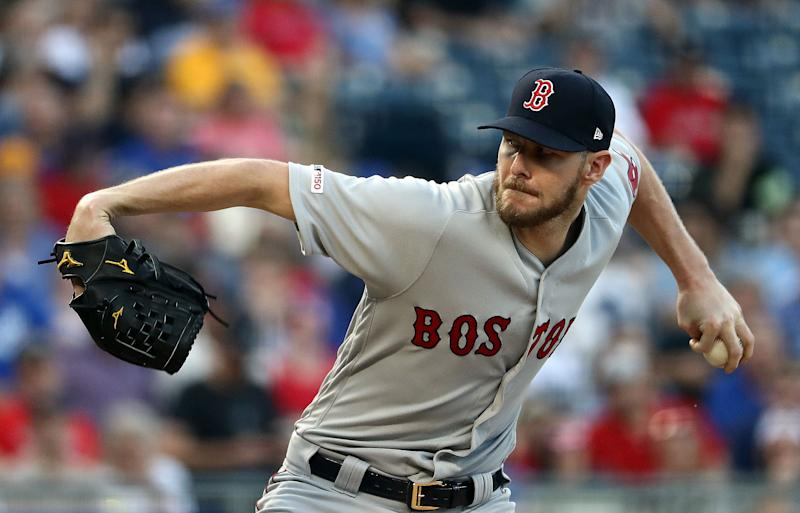 Chris Sale of the Boston Red Sox