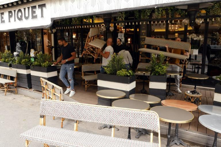 Six months of restrictions have left many French people eager to get back to the terraces