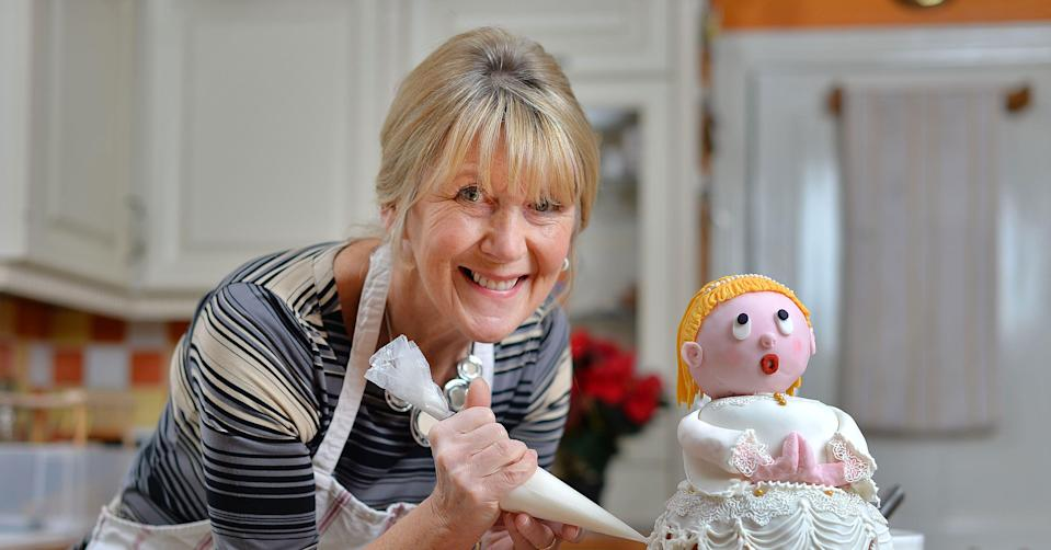 <p>Nancy Birtwhistle may be one of the oldest competitors in the history of <em>Great British Bake Off </em>but that didn't stop her from winning series five. Retired when she stepped into the <em>Bake Off </em>tent, she's since thrown herself back in the workforce and serves as a contributor for the <em>Daily Telegraph, </em>has her own baking website and regularly gives baking demonstrations at cooking fairs across the UK.<br>(REX/Shutterstock) </p>