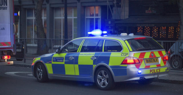 A marked police car on an emergency call-out in Plymouth was given a parking ticket. (File pic) (Getty Images)
