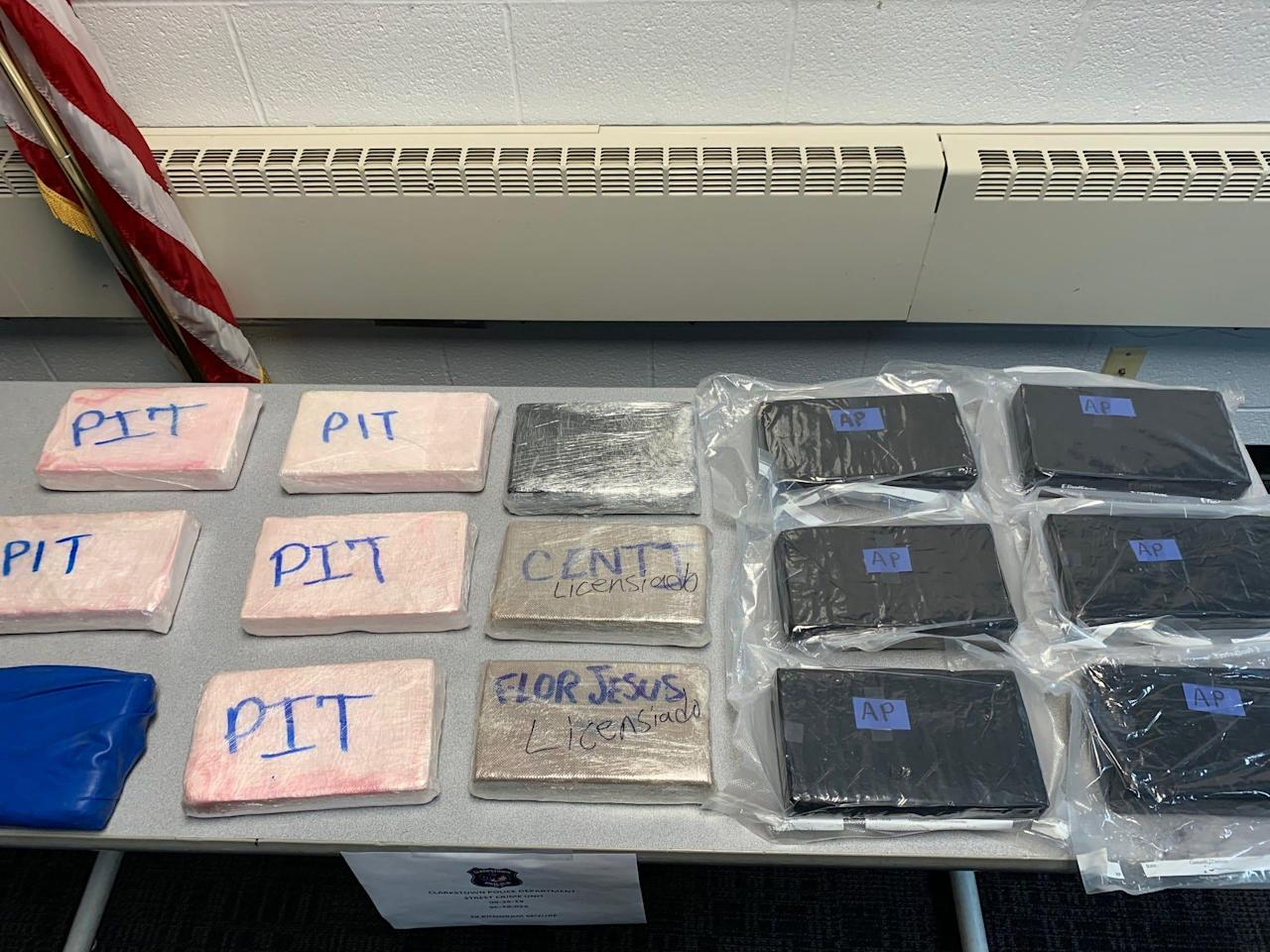 Three New York men charged in major drug ring bust: Country's largest seizure of carfentanil, police said