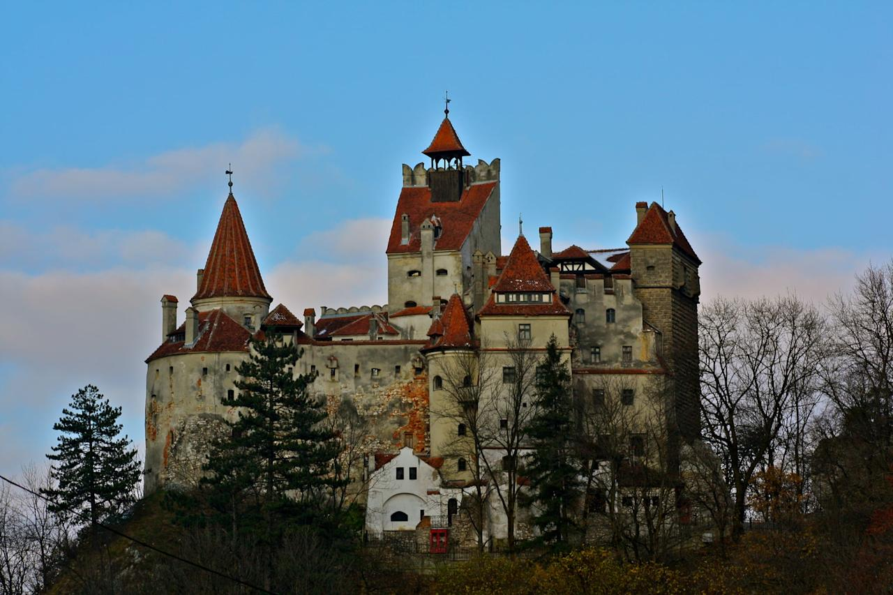 <p>For a spooky <span>Halloween</span>, where better to celebrate than the home of the original vampire himself, Count Dracula? Every year, fearless tourists flock to Transylvania and Bran Castle (the castle of the prince who inspired the story behind <strong>Dracula</strong>) to celebrate <span>Halloween</span> with costume parties and even actors playing out <strong>Dracula</strong>-inspired scenes. While many celebrate Halloween on Oct. 31, the main festivities take place on Nov. 30, St. Andrew's Night. The holiday honors the country's saint but also includes many elements of <span>Halloween</span>, like busting out garlic to ward off ghosts and evil souls.</p>