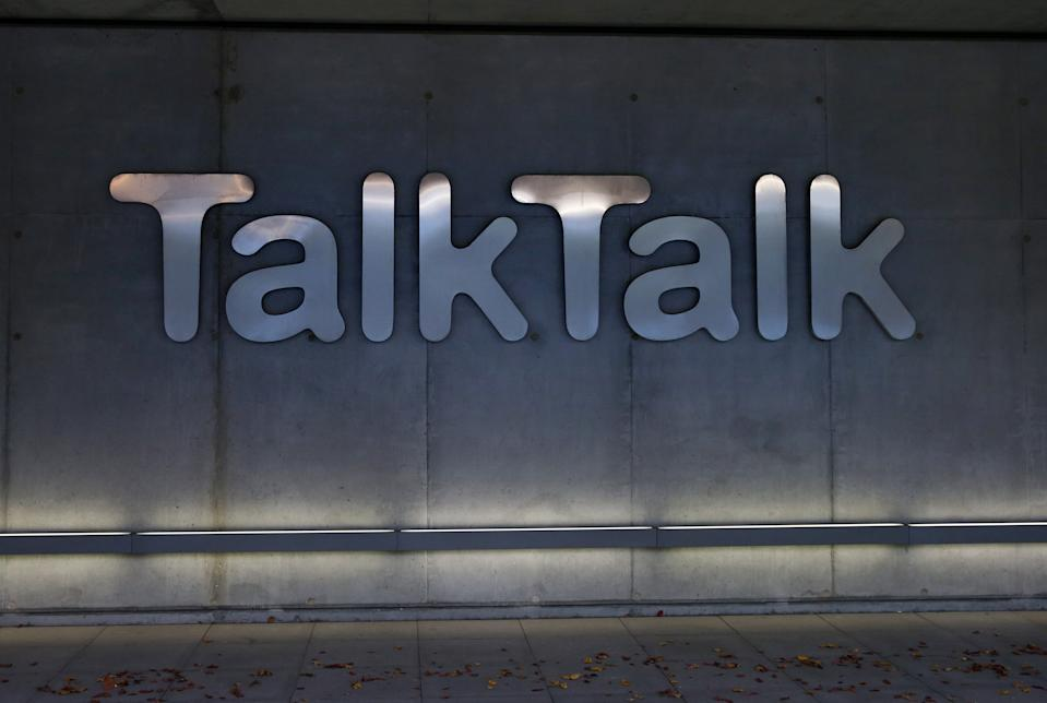 LONDON, ENGLAND - OCTOBER 23: Signage is pictured on the exterior of the headquarters for the Talk Talk telecommunications company are pictured on October 23, 2015 in London, England. Talk Talk announced today that it has received a ransom demand after its website was attacked and customers details stolen by hackers claiming to be a cyber-jihadi group.  (Photo by Carl Court/Getty Images)