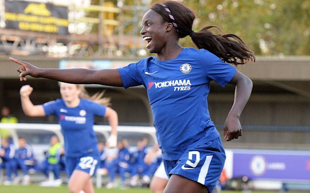 """Eni Aluko has announced that she will be leaving Chelsea Ladies """"with a heavy heart"""" following the final game of the Women's Super League season this weekend. Aluko, who has helped her side to a league and FA Cup double this season, said she """"could not dream of a better ending"""" to her second stint as a Chelsea player. The 31-year-old is yet to reveal which club she will be joining this summer, but held talks with Paris St-Germain and one other overseas team earlier this year. Aluko also won the domestic double with Chelsea in 2015, when she was the team's player of the year, and was described by the club as one of the great players in their history. """"It's with a heavy heart I confirm I'll be leaving Chelsea,"""" she said. """"I could not dream of a better ending. To my team-mates who I adore, the club and fans – thank you."""" It was announced earlier this week that Aluko, who has made 102 appearances for England, will join ITV's punditry team for this summer's men's World Cup in Russia. Aluko first signed for Chelsea in 2007 before leaving to play in the US a year later. Aluko has made 102 appearances for England Credit: Getty Images She rejoined the club in 2012, and was named Chelsea's player of the year in 2015, when she was also player of the match in the FA Cup final. She has not been a regular starter under manager Emma Hayes this season, but scored the winning goal against Sunderland this weekend that took them to the brink of the Women's Super League title. Chelsea secured the trophy with a 2-0 victory over Bristol City on Tuesday night. In a statement, Chelsea said that Aluko is """"one of the greats in our Ladies team's history,"""" adding her """"attacking flair and pace has been a feature of the Blues' forward play either centrally or out wide"""". The decision to leave Chelsea marks the latest event in a turbulent year for Aluko, who was involved in a discrimination case against Mark Sampson, the former England women's manager. Sampson was found guilty of racially abusing """