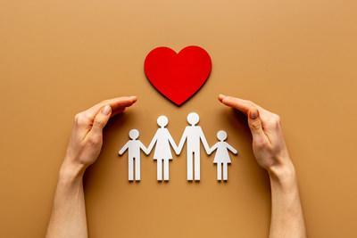 Life insurance replaces lost income, increases your estate, blankets your family with financial security.