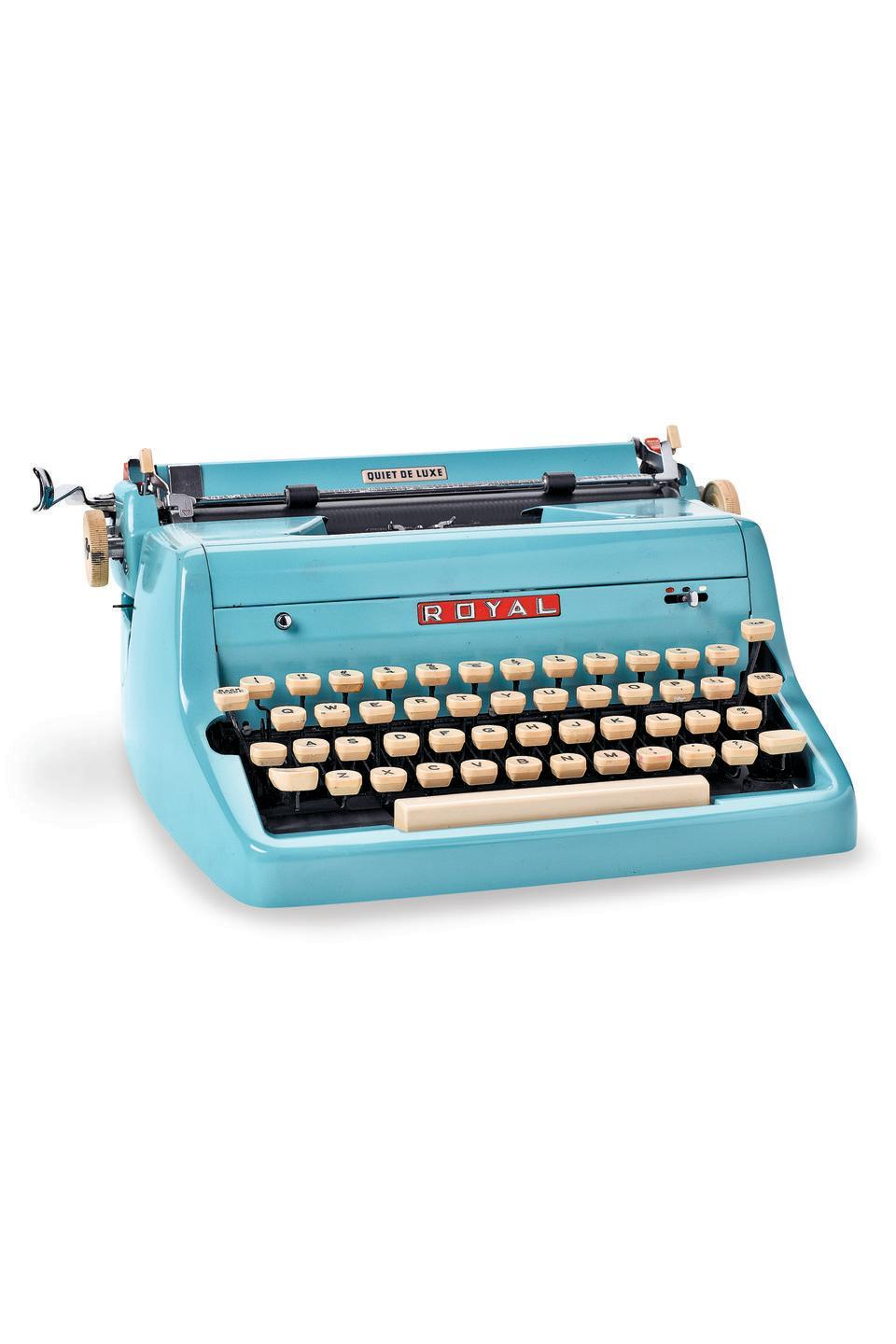 """<p><strong>What it was worth (2006):</strong> $350</p><p><strong>What it's worth now:</strong> $350</p><p>After many ownership and business changes, Royal Typewriter Company is now known as Royal Consumer Information Products Inc., and <a href=""""https://www.ebay.com/itm/Royal-Manual-Typewriter-Model-HHE-5524521/162443295499"""" rel=""""nofollow noopener"""" target=""""_blank"""" data-ylk=""""slk:still produces computer products"""" class=""""link rapid-noclick-resp"""">still produces computer products</a> today.</p>"""