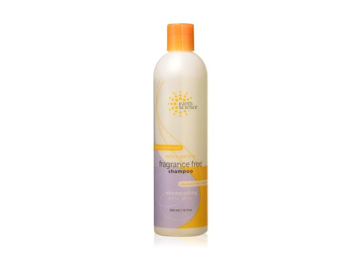earth science, best fragrance free shampoos