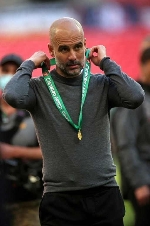 25 not out: Pep Guardiola won his 25th major trophy as manager of Barcelona, Bayern Munich and Manchester City