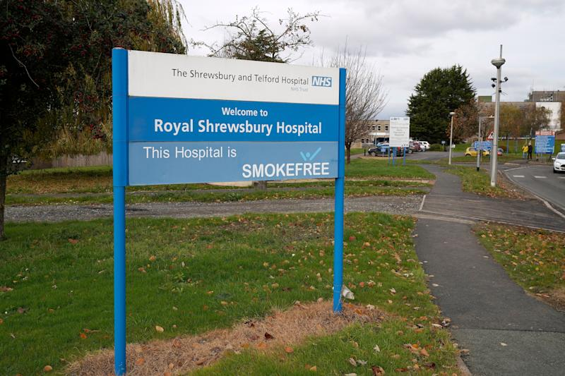 <strong>The Royal Shrewsbury Hospital is one of the sites run by Shrewsbury and Telford NHS Trust.</strong> (Photo: Christopher Furlong via Getty Images)