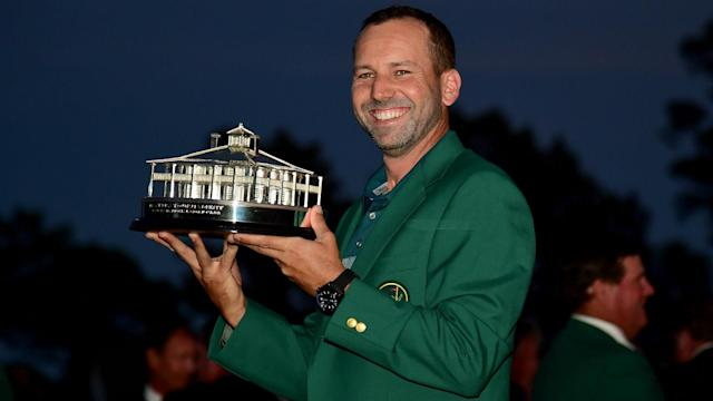 After ending his wait for a major, Masters champion Sergio Garcia has been named European Tour Golfer of the Year.