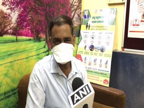 Dr Amit Malakar speaking to ANI in Indore on Wednesday. Photo/ANI