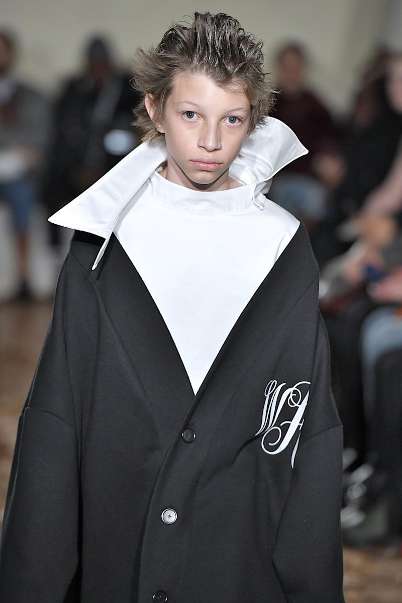Vaquera made sure the pre-teens had company at its fall/winter 2019 show during New York Fashion Week in February 2019.