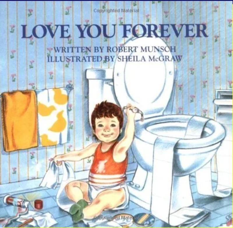 "The original ""Love You Forever"" by Robert Munsch. (Photo: Robert Munsch / Sheila McGraw via Firefly Books)"