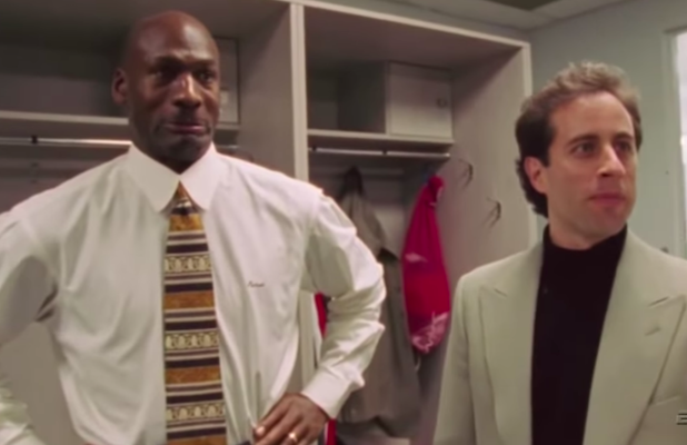Jerry Seinfeld Explains His Awkward Exchange With Phil Jackson in 'The Last Dance' Doc (Video)