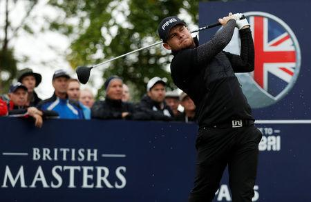 Hatton leads by three as Garcia misses cut at British Masters