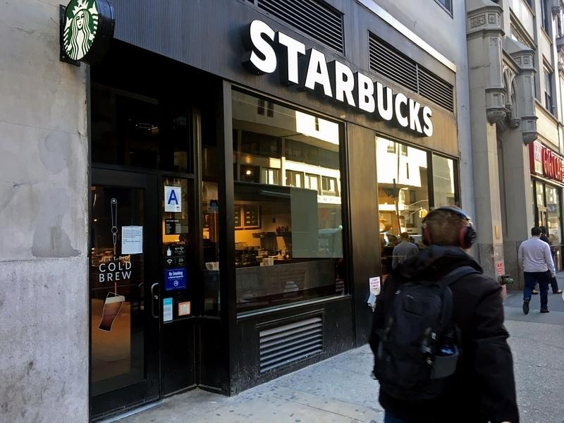 Starbucks initially planned to open 600 stores by the end of its fiscal year.