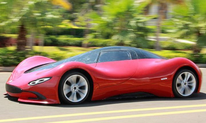 Chinese Electric Supercar 2
