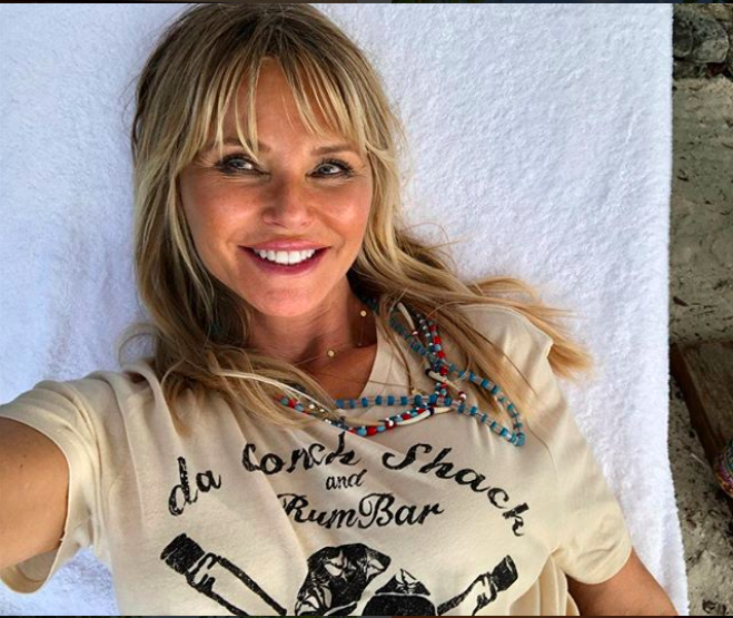 She previoulsy revealed she drinks three glasses of champagne a day. Photo: Instagram/Christie Brinkley