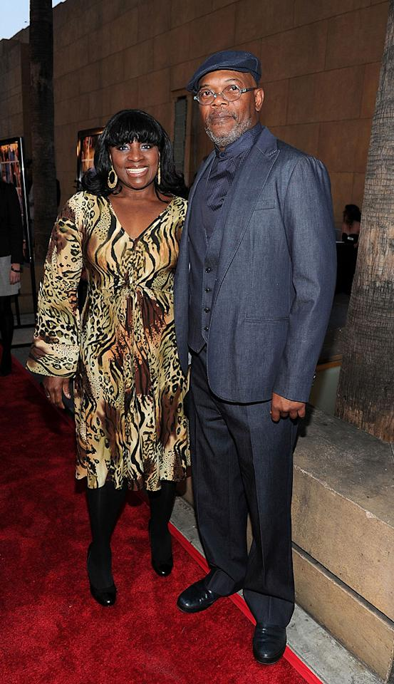 "<a href=""http://movies.yahoo.com/movie/contributor/1800018848"">Samuel L. Jackson</a> and wife at the Los Angeles premiere of <a href=""http://movies.yahoo.com/movie/1810088527/info"">Mother and Child</a> - 04/19/2010"